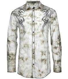 Roar Native Button Front Shirt