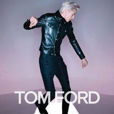 Introducing the TOM FORD Spring/Summer 2016 ad campaign shot by Nick Knight in Los Angeles, featuring Lucky Blue Smith, Mica Arganaraz, and Lida Fox. Tom Ford, Yves Saint Laurent, Lucky Blue Smith, Gucci, Fun Shots, Spring Summer 2016, Black Tie, Leather Pants, Leather Jackets