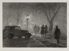edward hopper etchings | Get Real at the Bruce Museum | Litchfield Hills and Fairfield County ...