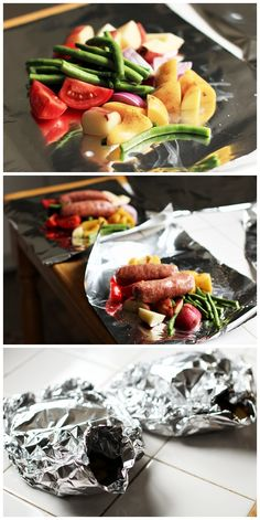 Grilled Foil Packets