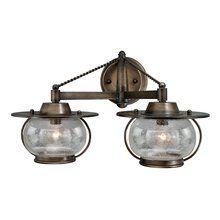 View the Vaxcel Lighting W0019 Jamestown 2 Light Halogen Bathroom Vanity Light at LightingDirect.com.