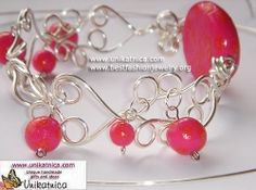 Learn how to make wire jewelry -astonishingly beautiful earrings, bracelets, rings, pendants and necklaces. If you woud like to know how to make wire jewelry of high quality, but quickly and with onoly using some simple techniques, this website will help you to master easy wire wrapping and crocheting techniques.