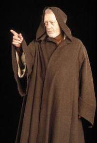 Obi-Wan Kenobi aka Sir Alec Guiness, 1914-2000