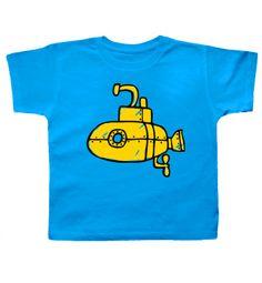 Submarine Turquoise T-shirt