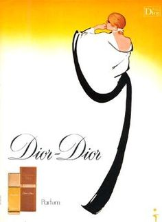 René Gruau for Dior