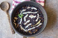 Arroz negro con 'calamares' - Cocinando el Cambio