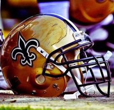 New Orleans Saints Helmet Nfl Football Players, Football Helmets, Saints Football, Nfl Cheerleaders, Cheerleading, Manning Nfl, Happy Black, Who Dat, All Things New