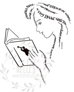 This beautiful image of a Young Woman reading her scriptures comes as a digital download. Her image is formed using the words from the 2018 Youth Theme Learn of me and listen to my words... from Doctrine and Covenants 19:23  If you are a youth leader please contact us, we can digitally send it to y
