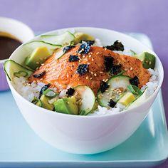 Cooking: Simple Salmon Chirashi