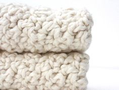 organic cotton crochet washcloths, $8.50 Would be perfect with some beautiful soaps as a thank you for staying over at someone's house.