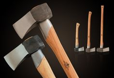 Gransfors Bruks Axe Splitting Collection. View our selection of splitting axes and mauls... http://www.osograndeknives.com/store/catalog/splitting-axes-and-mauls-125-1.html