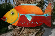 Angel Fish by CoolBreezeStudio on Etsy Fish Wall Decor, Fish Wall Art, Beach Wall Decor, Fish Art, Wood Fish, Fish Crafts, Beach Crafts, Fishing Gifts, Fishing Lures