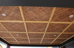 Bamboo Matting Ceiling Google Search