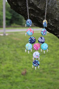 Lilly bubble necklace