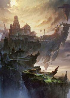 A estrada para o palácio do oriente