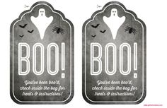 Step by step instructions on how to Boo!