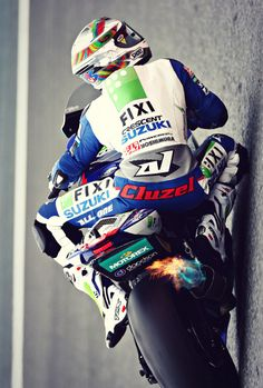 Superbike. Name is on his leathers......!