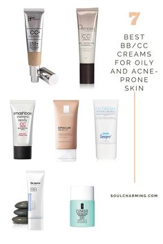 The Best BB/CC Creams For Oily and Acne-Prone Skin. Check my blog for more information! See you there:)