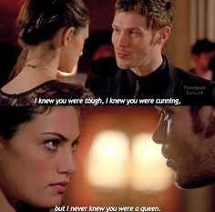 I love how strong of a character Haley has become from her transition from vampire diaries to the originals.