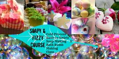 SOAP MAKING (CP) & BATH BOMB COURSE in SYDNEY