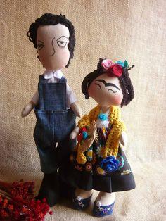 Tilda By Feitos Perfeitos: Frida Kahlo e Diego Rivera