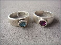 PILGRIM purple set auger silvery ring [P019] - $9.90 - lucky brand , j.crew , lia sophia jewelry on sale !