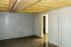 Learn how amazingly easy it is to prevent and fix a wet basement! These waterproofing improvements are inexpensive and can usually be done yourself or with a little help from your friends. Leaky Basement, Dry Basement, Flooded Basement, Basement Walls, Basement Waterproofing, Basement Finishing, Basement Remodel Diy, Basement Renovations, Home Renovation