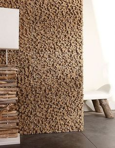 wood pixel wall decor