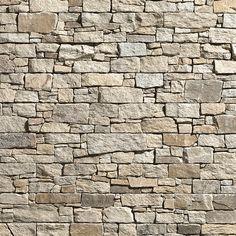 Pierre granit claire et homogène de finition rustique. Parfaite pour les façades et les murs au style traditionnel.