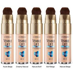 L'OREAL Visible Lift Absolute Smooth...Rated best drugstore foundation by Prevention.com.
