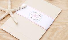 Aruba Wedding Invitation Booklet | Adori Designs: NJ Custom Wedding Invitations and Announcements