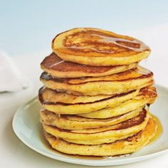 Bruce Paltrow's World Famous Pancakes Best recipe I've found yet! I added a tsp of vanilla.