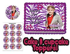 Niall Horan One Direction Birthday Cake Topper Edible Picture for Paper Cup 16th | eBay