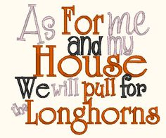 As For me and My house We will pull for the by PerfectPretties, $4.00
