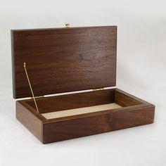 Modular Jewelry Box System Walnut Top by krtwood on Etsy