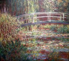 Paris by Monet   Paris Musee D'Orsay Claude Monet 1900 Nympheas Water Lily Basin Pink ...