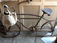 1948 Columbia bicycle. adore!