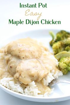 Instant Pot Man Pleasing Chicken--the easiest chicken recipe that will please your family's taste buds! With only a few ingredients that you probably already have at home you're on your way to a tasty dinner! Yummy Chicken Recipes, Yum Yum Chicken, Crockpot Recipes, Make Ahead Lunches, Incredible Recipes, Gluten Free Chicken, Easy Snacks, Pressure Cooking, Instant Pot