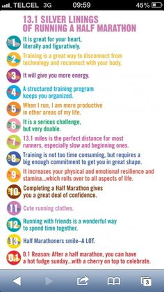Half marathon here I go!!