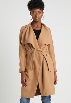Kåpe / frakk - camel Even And Odd, Camel, Duster Coat, Jackets, Fashion, Dress, Classic, Mantle, Down Jackets