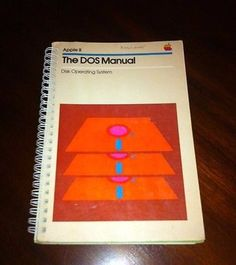 Vintage-Apple-II-Computer-DOS-Manual-1981-Disk-Operating-System-Quick-Reference