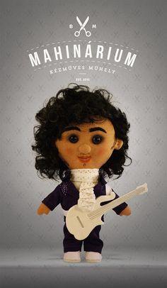 Selfie doll Prince custom doll caracter doll rag by Mahinarium, Ft23000.00