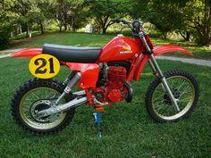 Brad Lackey Honda RC 450 cc. 1978