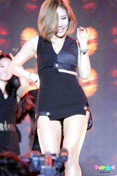 SECRET - Jung HaNa #정하나 #하나 (fmr. Zinger #징거) comeback showcase for I'm In Love 140811 시크릿 컴백 쇼케이스