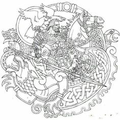 Odin in armor Mehr Simbolos Tattoo, Norse Tattoo, Celtic Tattoos, Irish Tattoos, Armor Tattoo, Wiccan Tattoos, Inca Tattoo, Indian Tattoos, Samoan Tattoo