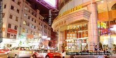 Empire Hotel Kowloon in Tsim Sha Tsui area , Hong Kong.