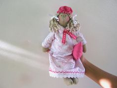 SALE Handmade doll Tilda gift for by LyuToys on Etsy