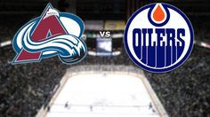 Avalanche vs. Oilers tonight at 7 PM!