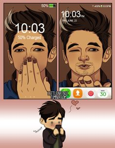 Always, Alec´s mobile xD