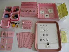 Language pink serie materials